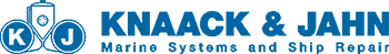 Knaack und Jahn Schiffsreparatur Logo